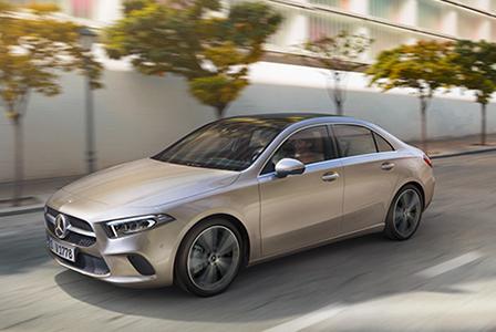 The new A-Class Sedan 이미지