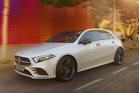 The new A-Class Hatch 이미지