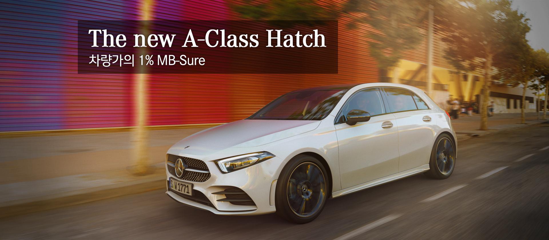 The New A-Class Hatch